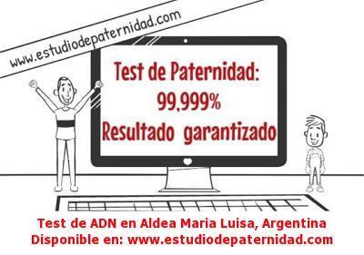 Test de ADN en Aldea Maria Luisa, Argentina