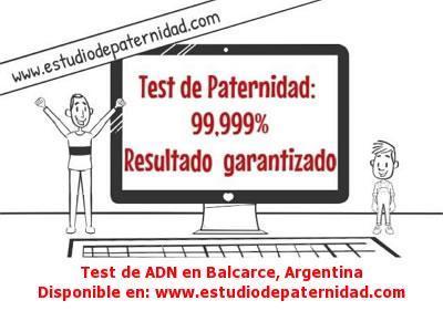 Test de ADN en Balcarce, Argentina