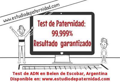 Test de ADN en Belen de Escobar, Argentina