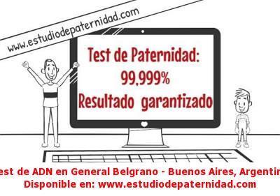 Test de ADN en General Belgrano - Buenos Aires, Argentina