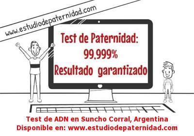 Test de ADN en Suncho Corral, Argentina