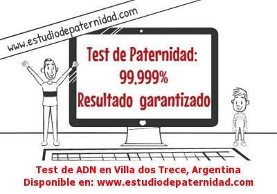 Test de ADN en Villa dos Trece, Argentina