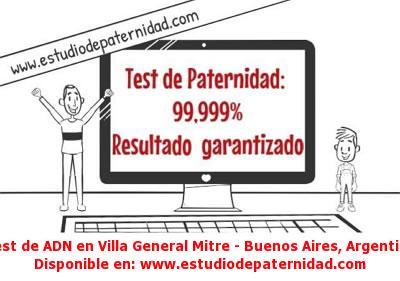 Test de ADN en Villa General Mitre - Buenos Aires, Argentina