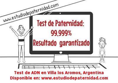 Test de ADN en Villa los Aromos, Argentina