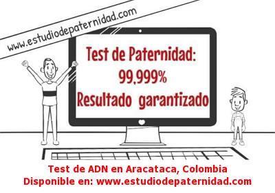 Test de ADN en Aracataca, Colombia