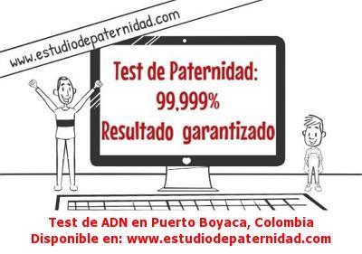 Test de ADN en Puerto Boyaca, Colombia