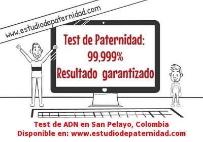Test de ADN en San Pelayo, Colombia