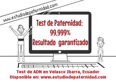 Test de ADN en Velasco Ibarra, Ecuador