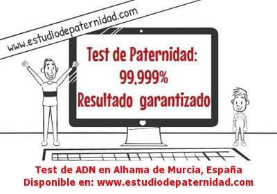 Test de ADN en Alhama de Murcia, España