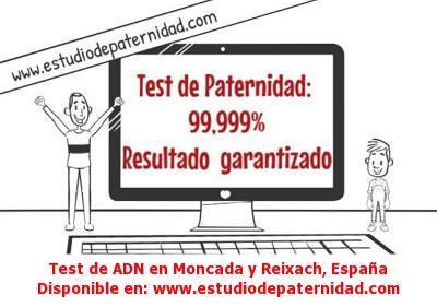 Test de ADN en Moncada y Reixach, España