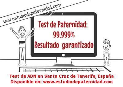 Test de ADN en Santa Cruz de Tenerife, España
