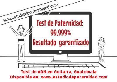 Test de ADN en Guitarra, Guatemala