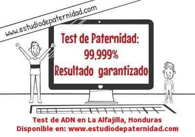 Test de ADN en La Alfajilla, Honduras