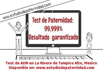 Test de ADN en La Rivera de Tampico Alto, Mexico