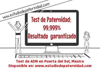 Test de ADN en Puerta del Sol, Mexico