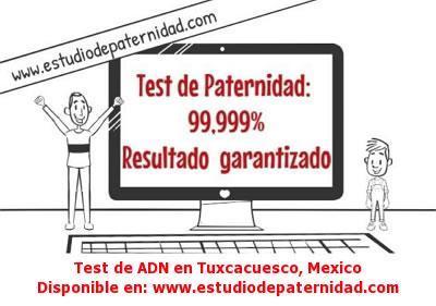 Test de ADN en Tuxcacuesco, Mexico