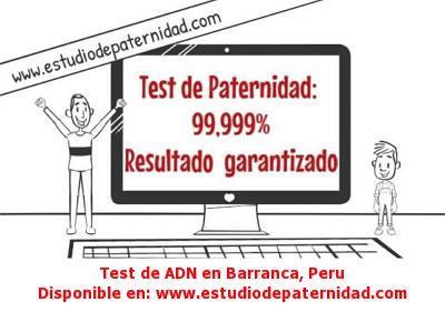 Test de ADN en Barranca, Peru