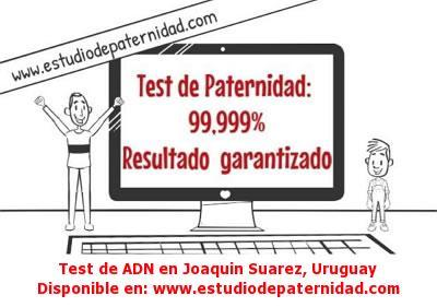 Test de ADN en Joaquin Suarez, Uruguay