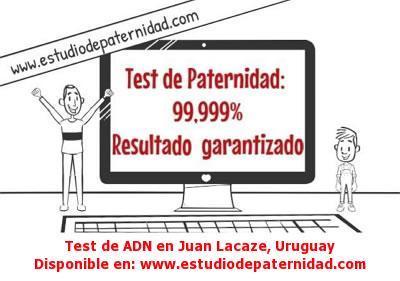 Test de ADN en Juan Lacaze, Uruguay